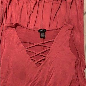 Swing pink dress. Rue 21 size M